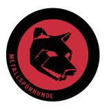 Aufkleber «Schwarzer Hund»