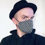Maske «Zick Zack»