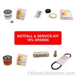 Notfall & Service Kit mit Wartungsteilen für Lombardini Marine LDW 502 M