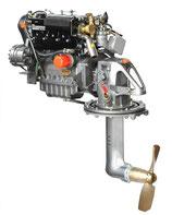 Lombardini Marine LDW 1404 SD Saildrive - 29,4 kW (40 PS)