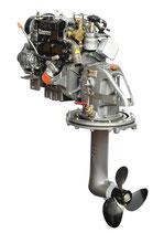 Lombardini Marine LDW 502 SD Saildrive - 9,5 kW (13 PS)