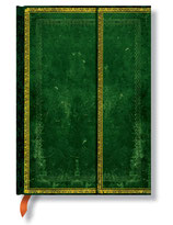 Reisetagebuch Faux Leder Jadegrün