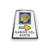 Pin / Anstecker Camino del Norte