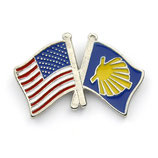 Pin / Anstecker Camino USA Flagge