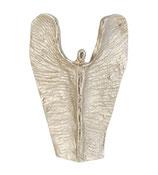 Handschmeichler Engel der Stärke aus Silberbronze