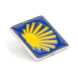 pin / badge scallop