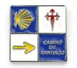 Pin / Anstecker Camino de Santiago