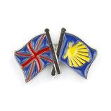 Pin / Anstecker Camino Großbritannien Flagge