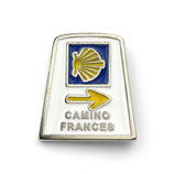 Pin / Anstecker Camino Frances