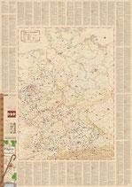 Pilgerwege und -orte in Deutschland - Faltkarte