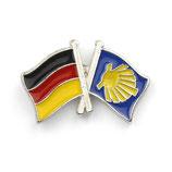Pin / Anstecker Camino Deutschland Flagge