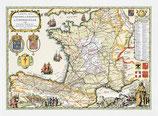 Karte Chemins de Saint Jaques de Compostelle