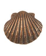 Jakobsmuschel aus Bronze (ohne Geschenkkarton)