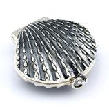Jakobsmuschel Medaillon, 925er Silber