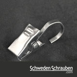 DIGNITET/ RIKTIG Gardine Gleiter - 6 Stück