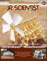 """Jr. Scientist """"Strandbeest"""" zum selber bauen mit Lehrbuch Windmühle"""