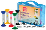 Riesen Sanduhren 5er Set in fünf Farben für Kinder
