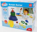 EDU Toys Mein Erster Bunsenbrenner –Experimentierkasten für Kleinkinder mit bebildertem Handbuch in Deutscher Sprache für Kleine Wissenschaftler