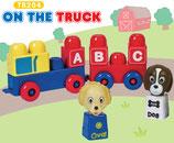 Tutor Blocks™ Serie 204 ABC-Truck Kleinkind Magnetbausteine Lernbausteine Senioren Memory-Bausteine Babyspielzeug Sensorikspielzeug ab +6 Monate