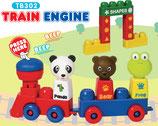 Tutor Blocks™ Serie 302 Reisezug mit Hupe Kleinkind Magnetbausteine Lernbausteine Senioren Memory-Bausteine Babyspielzeug Sensorikspielzeug ab +6 Monate