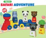 Tutor Blocks™ Serie 201 Safari Abenteuer Kleinkind Magnetbausteine Lernbausteine Senioren Memory-Bausteine Babyspielzeug Sensorikspielzeug ab +6 Monate
