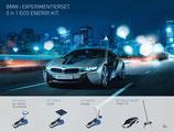EDU Toys kompatibel mit Original BMW i8 3in1 Energie Experimentierset plus 1:24 RC i8 Concept