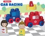 Tutor Blocks™ Serie 202 Autorennen Kleinkind Magnetbausteine Lernbausteine Senioren Memory-Bausteine Babyspielzeug Sensorikspielzeug ab +6 Monate
