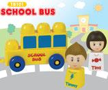 Tutor Blocks™ Serie 101 Schulbus Kleinkind Magnetbausteine Lernbausteine Senioren Memory-Bausteine Babyspielzeug Sensorikspielzeug ab +6 Monate
