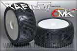 6mik TRUGGY Reifen RAPID-T  mit Felgen weiss 15-25°  111525
