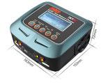 Ladegerät D100 AC/DC DUO LiPo 1-6s 10A 2x100W SK100089