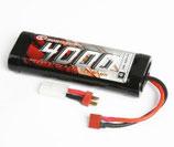 NiMH Akku 4000mAh 7,2V Stick Pack T-Stecker & Tamiya SC4000T