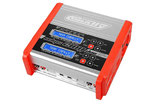 Team Corally - Ladegerät - Eclips 2100 Duo - AC/DC - 100W Leistung - C-48489