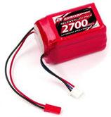 LiPo 7,4V, 2700mAh, 2/3A Hump Size, Empfängerpack (EH) R05202
