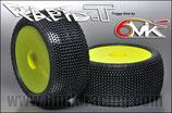 6mik TRUGGY Reifen RAPID-T  mit Felgen gelb 15-25°  111525Y