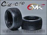 6MIK Crunch Hinterreifen 1/10, blau soft (Paar) T102B