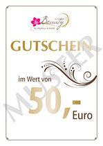 50-EURO-GUTSCHEIN FÜR IHN