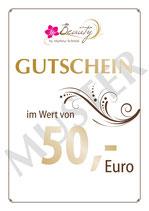 50-EURO-GUTSCHEIN FÜR SIE