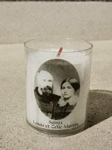 Veilleuse 20h des saints Louis et Zélie Martin  ou Sainte Thérèse.