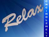 Schriftzug Relax 61 cm