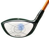 Golf Impact Tape zur Analyse des Treffens im Sweetspot