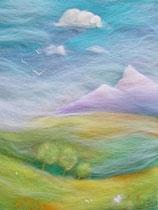 """Serie """"Blumen und Landschaften"""" - montagnes"""
