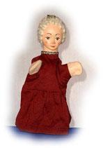 2205 Königin aus Holzmasse (ohne Beine)