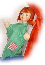 4421 rothaariges Mädchen (aus Hartkunststoff)
