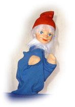 2238.1 Zwerg blau aus Holzmasse (ohne Beine)