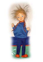 2002 Seppli mit Bein aus  Holzmasse