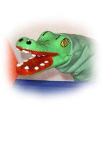 4430 Krokodil (aus Hartkunststoff)