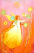 "Serie ""Romantisch"" - cueillette des fleurs"