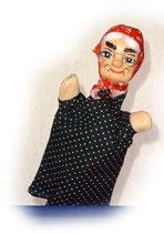2208 Großmutter aus Holzmasse (ohne Beine)