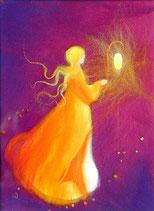 """Serie """"Romantisch"""" - fée à la lanterne"""