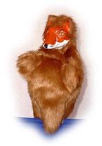 3303 Fuchs (Kasperlepuppe aus Holzmasse)
